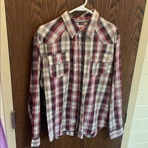 Levi Long Sleeve Button Down